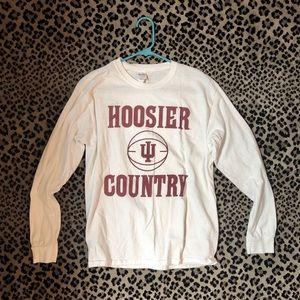 Hoosier Country Basketball Long Sleeve T-Shirt